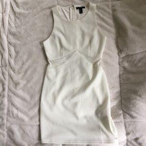 Forever 21 Formal White Mini Dress